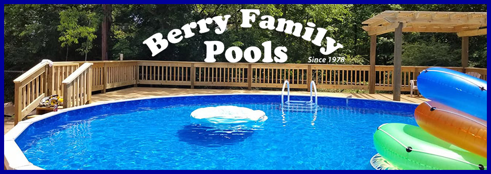Beautiful pools from Berry Family Pools